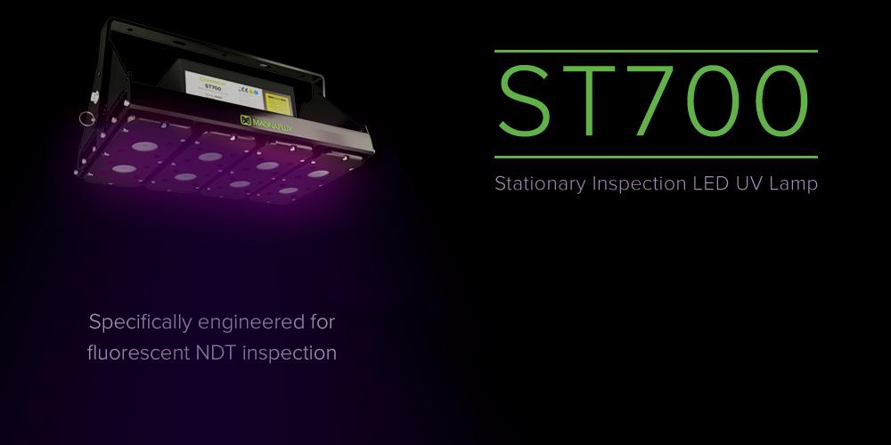 ST700 - Nova Luminária Estacionária UV LED